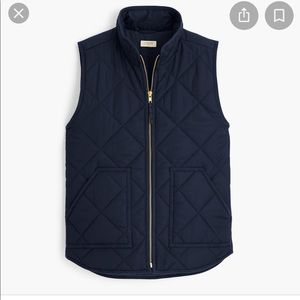 J Crew Mercantile Quilted Puffer Vest